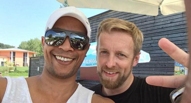 Salsa Open Air Beach Party mit Ruben